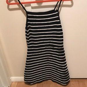 Topshop Scalloped Halter Dress